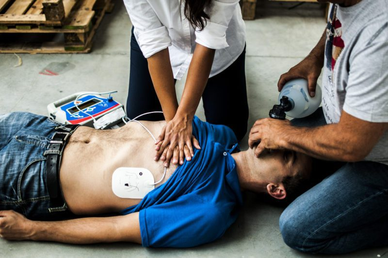 ACLS training saves lives