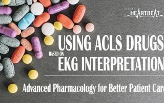 using acls drugs based on ekg interpretation